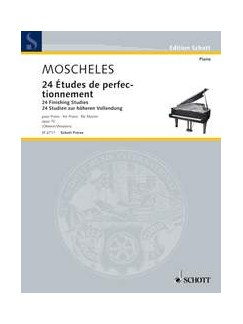 Ignaz Moscheles: 24 Finishing Studies Op.70 Books | Piano