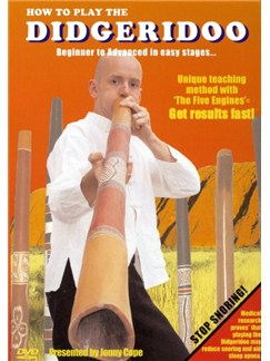 Jonny Cope: How To Play The Didgeridoo DVDs / Videos | Didgeridoo