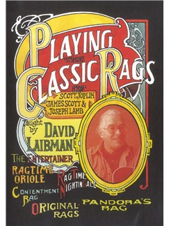 David Laibman: Playing The Classic Rags Of Scott Joplin, James Scott & Joseph Lamb DVDs / Videos | Guitar