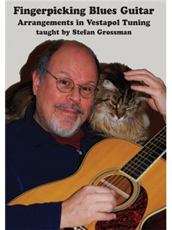 Stefan Grossman: Fingerpicking Blues Guitar Arrangements In Vestapol Tuning DVDs / Videos | Guitar, Guitar Tab