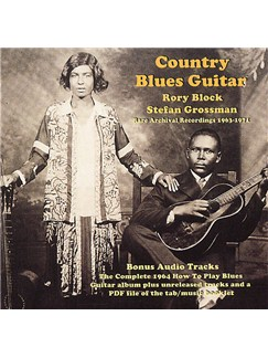 Country Blues Guitar (CD) CDs |