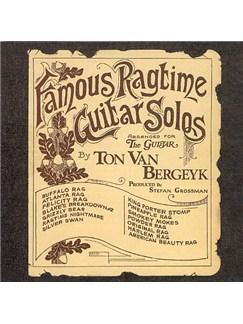 Ton Van Bergeyk: Famous Ragtime Guitar Solos (CD) CDs |