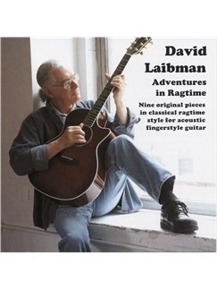 David Laibman: Adventures In Ragtime (CD) CDs | Guitar