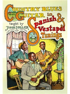 Country Blues Guitar in Spanish & Vestapol Tunings DVDs / Videos | Guitar