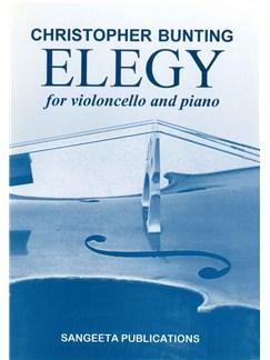 Christopher Bunting: Elegy For Cello And Piano Books | Cello, Piano Accompaniment