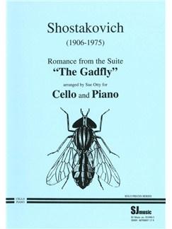 Dmitri Shostakovich: Romance For Cello - The Gadfly Op. 97 Books | Cello, Piano Accompaniment