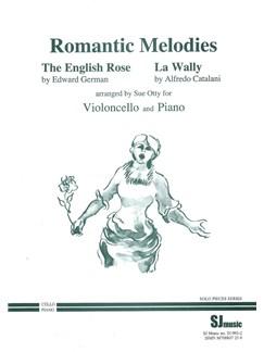 Romantic Melodies For Cello And Piano Books | Cello, Piano Accompaniment