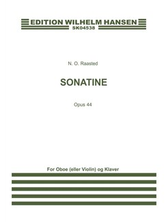 Niels Otto Raasted: Sonatine Op. 44 (Score & Parts) Books | Oboe, Piano Accompaniment, Violin