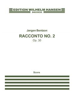 Jørgen Bentzon: Racconto Nr. 2, Op. 30 (Score) Books | Flute, Violin, Viola, Cello