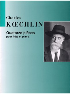 Charles Koechlin: Quartorze Pieces Pour Flute et Piano Books | Flute, Piano Accompaniment