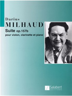 Darius Milhaud: Suite In D Op.157b Books | Violin, Cello, Clarinet