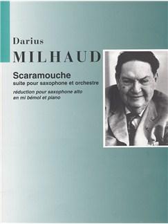 Darius Milhaud: Scaramouche (Alto Saxophone and Piano) Books | Alto Saxophone, Piano Accompaniment