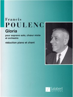 Francis Poulenc: Gloria (Soprano/SATB) Books | Soprano, SATB, Piano Accompaniment