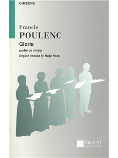 Francis Poulenc: Gloria - Chorus Part (Latin/English) Books | Soprano, SATB