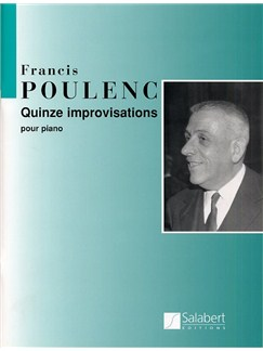 Francis Poulenc: Quinze Improvisations Books | Piano