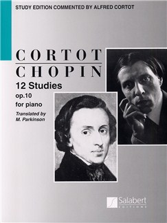 Frederic Chopin: 12 Studies Op.10 (ed. Cortot) Books | Piano