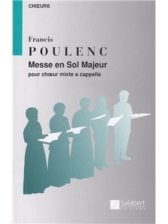 Francis Poulenc: Messe En Sol Majeur Books | SATB