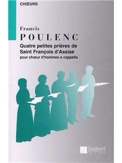 Francis Poulenc: Quatre Petites Prieres De St Francois D'assise Books |
