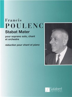 Francis Poulenc: Stabat Mater Books | Soprano, SATB, Piano Accompaniment