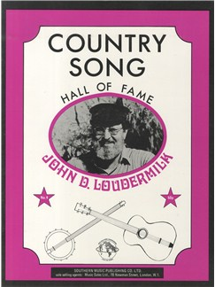 Hall Of Fame Series: Country Song Vol. 4: John D Loudermilk Books | Melody line & lyrics, with chord symbols