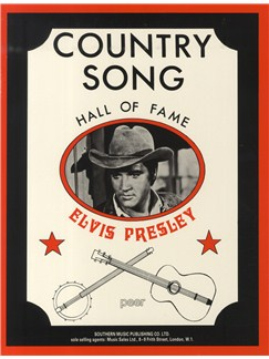 Hall Of Fame Series: Country Song Elvis Presley Books | Melody line & lyrics, with chord symbols