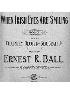 Ernest R. Ball: When Irish Eyes Are Smiling Digital Sheet Music | Piano