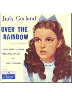 Judy Garland: Over The Rainbow (from 'The Wizard Of Oz') Digital Sheet Music | 5-Finger Piano