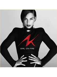 Alicia Keys: Girl On Fire Digitale Noten | Klavier, Gesang & Gitarre (rechte Hand Melodie)