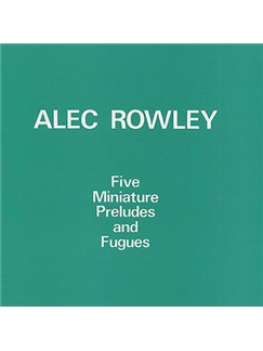 Alec Rowley: Fugue (from Five Miniature Preludes And Fugues) Digital Sheet Music | Piano