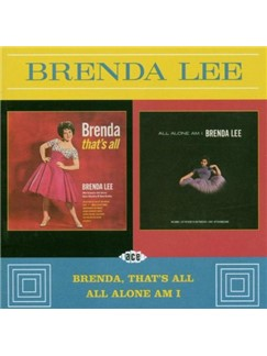 Brenda Lee: All Alone Am I Digital Sheet Music | Piano, Vocal & Guitar (Right-Hand Melody)
