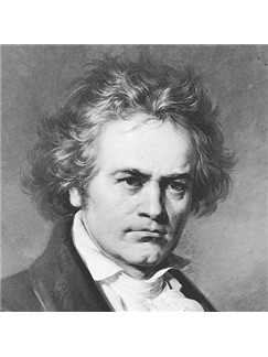 Ludwig van Beethoven: Allegretto Theme (from Symphony No. 7) Digital Sheet Music | Easy Piano