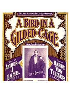 Maurice J. Gunsky: A Bird In A Gilded Cage Digital Sheet Music | Piano, Vocal & Guitar (Right-Hand Melody)
