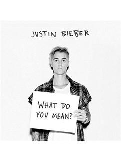 Justin Bieber: What Do You Mean? Digital Sheet Music | Beginner Piano
