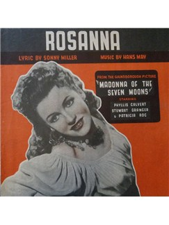 Phyllis Calvert: Rosanna (from Madonna of the Seven Moons) Digital Sheet Music | Piano, Vocal & Guitar (Right-Hand Melody)