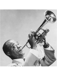 Louis Armstrong: Once In A While Digital Sheet Music | Keyboard