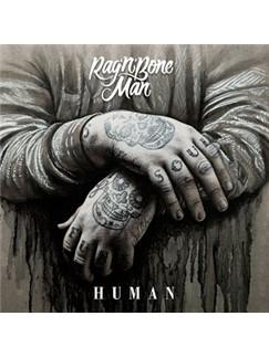 Rag'n'Bone Man: Human Digitale Noder | Klaver, sang og guitar (højrehåndsmelodi)