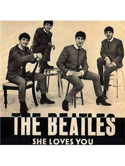 The Beatles: She Loves You Digital Audio | Guitar Backing Track