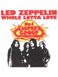 Led Zeppelin: Whole Lotta Love Digital Audio | Guitar Backing Track