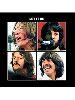 The Beatles: Let It Be Partituras Digitales | Piano (Big Notes)