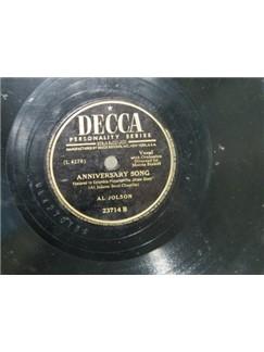 Al Jolson: Anniversary Song Digital Sheet Music   Piano, Vocal & Guitar (Right-Hand Melody)