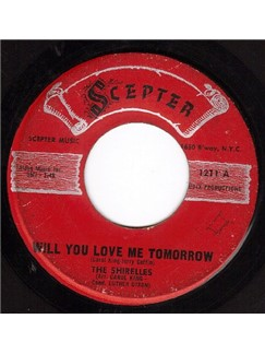 The Shirelles: Will You Love Me Tomorrow (Will You Still Love Me Tomorrow) Digital Sheet Music | Keyboard Transcription