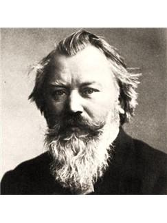 Johannes Brahms: Wiegenlied (arr. Jon Washburn) Digital Sheet Music | Choral SSATB