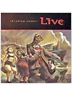Live: Lightning Crashes Digital Sheet Music | Piano, Vocal & Guitar (Right-Hand Melody)