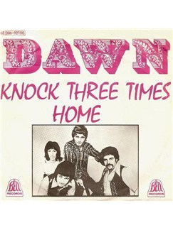 Dawn: Knock Three Times Digital Sheet Music | Lyrics & Chords (with Chord Boxes)