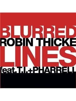 Robin Thicke: Blurred Lines Digital Sheet Music | GTRENS