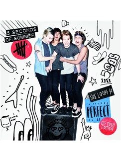 5 Seconds of Summer: She Looks So Perfect Digitale Noten | Klavier, Gesang & Gitarre (rechte Hand Melodie)