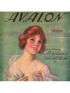 Al Jolson: Avalon Digital Sheet Music | Banjo