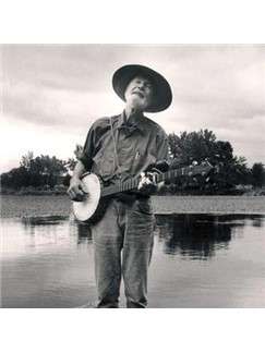 Pete Seeger: Sailing Down My Golden River Digital Sheet Music | Banjo