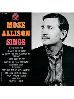 Mose Allison: One Room Country Shack Digital Sheet Music | Piano & Vocal