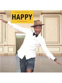 Pharrell: Happy Digital Sheet Music | Lyrics & Chords (with Chord Boxes)